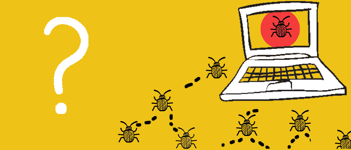 Botnets spewing from a laptop